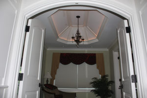405 Quantuck Lane, Westfield- Master Sitting Room with Arch Entryway