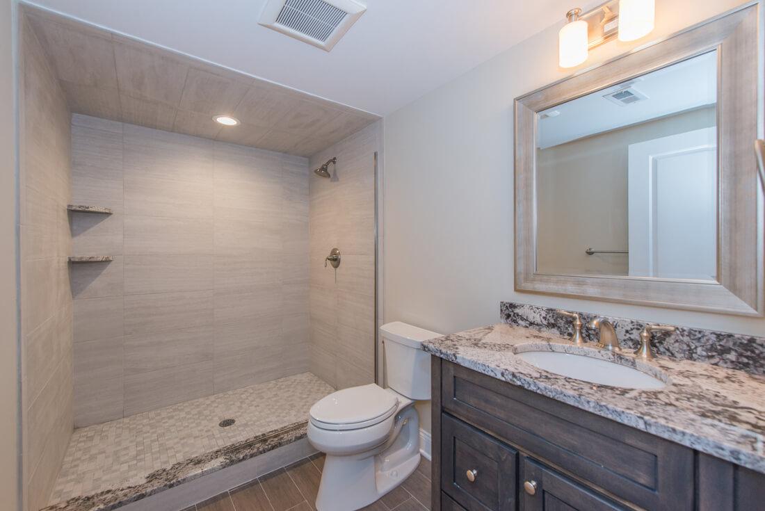 407 Quantuck Basement Bathroom
