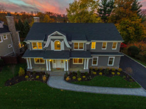 407 Quantuck Lane, Westfield- Front Elevation Aerial