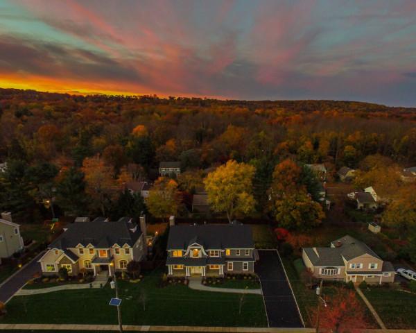 Front Elevation Aerial I