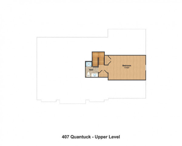 Attic Floor Plan (Optional)
