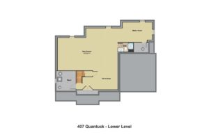 407 Quantuck Lane, Westfield- Basement Floor Plan