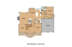 407 Quantuck Lane, Westfield- First Floor Plan