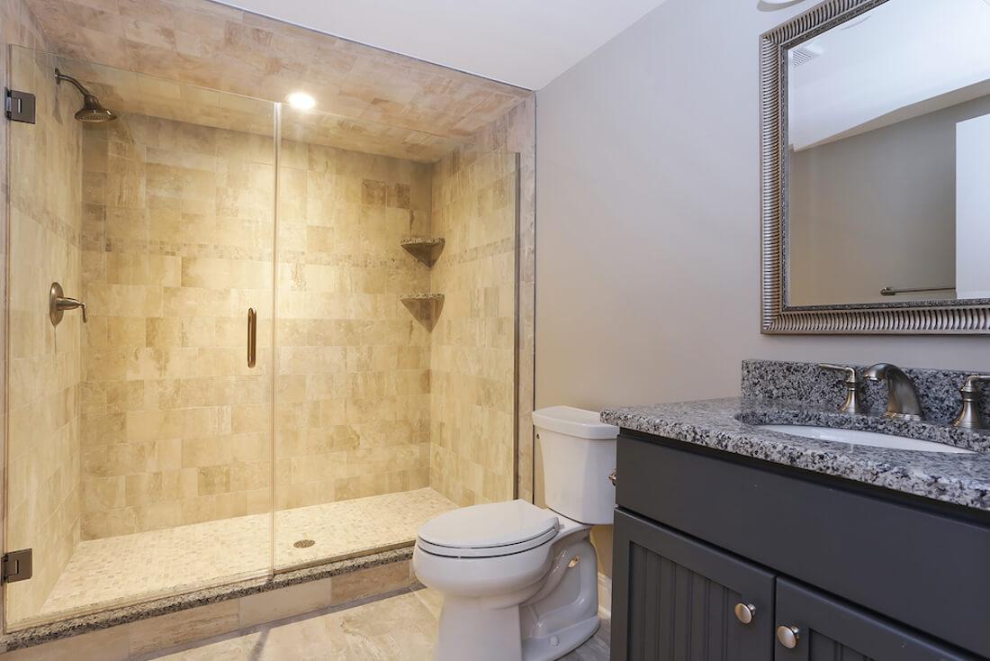 408 Quantuck Basement Bathroom