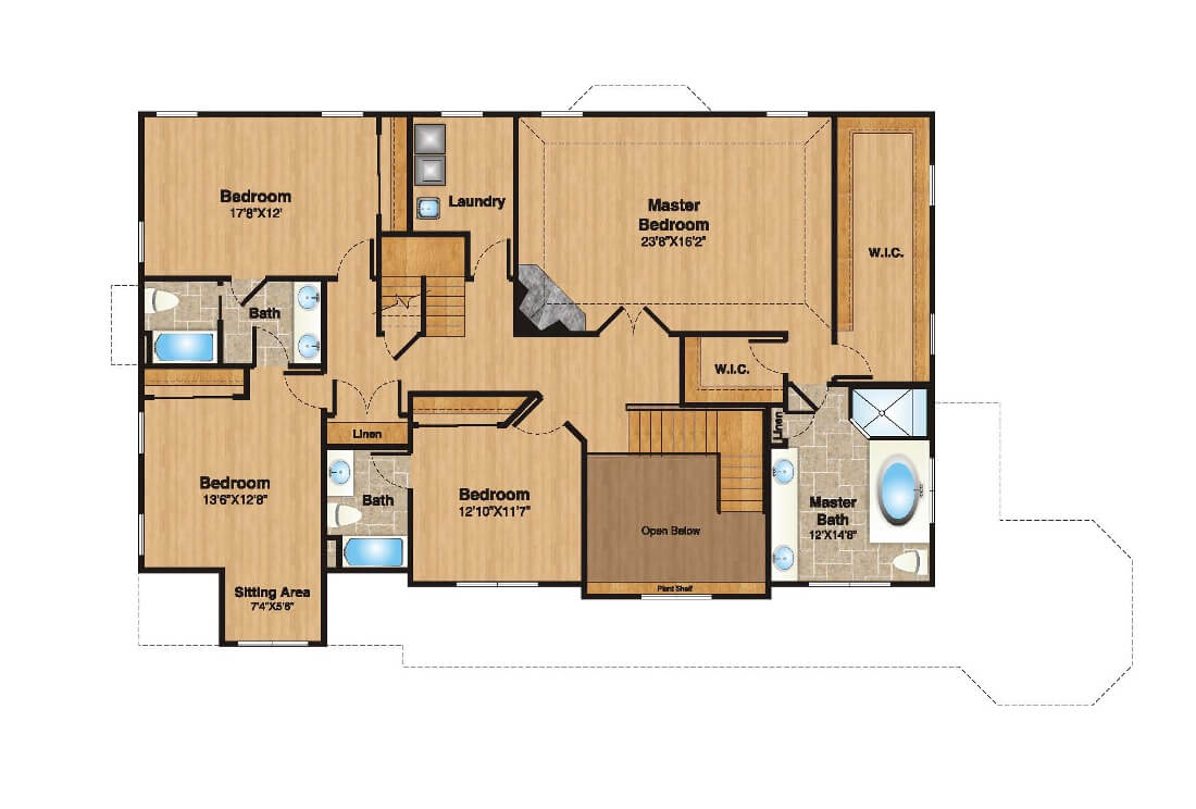 408 Quantuck 2nd Floor Plan