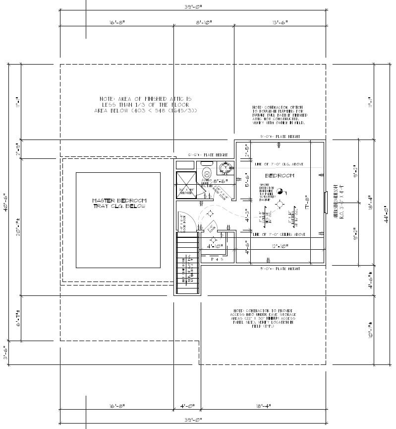 443 Beechwood Attic Floor Plan Future