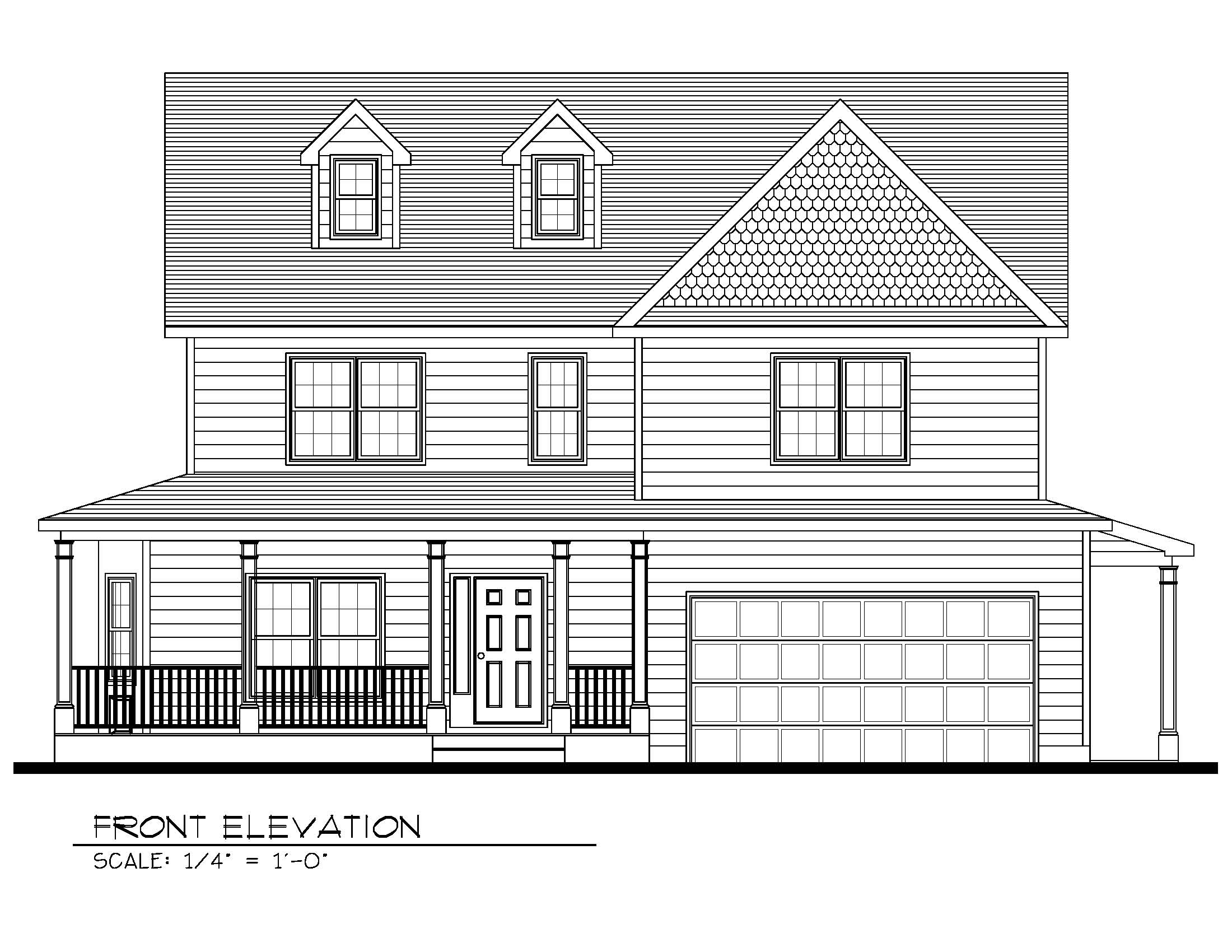 443 Beechwood Front Elevation