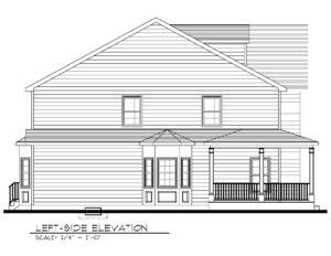443 Beechwood Place, Westfield- Left Side Elevation