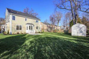 443 Beechwood Place, Westfield- Rear yard