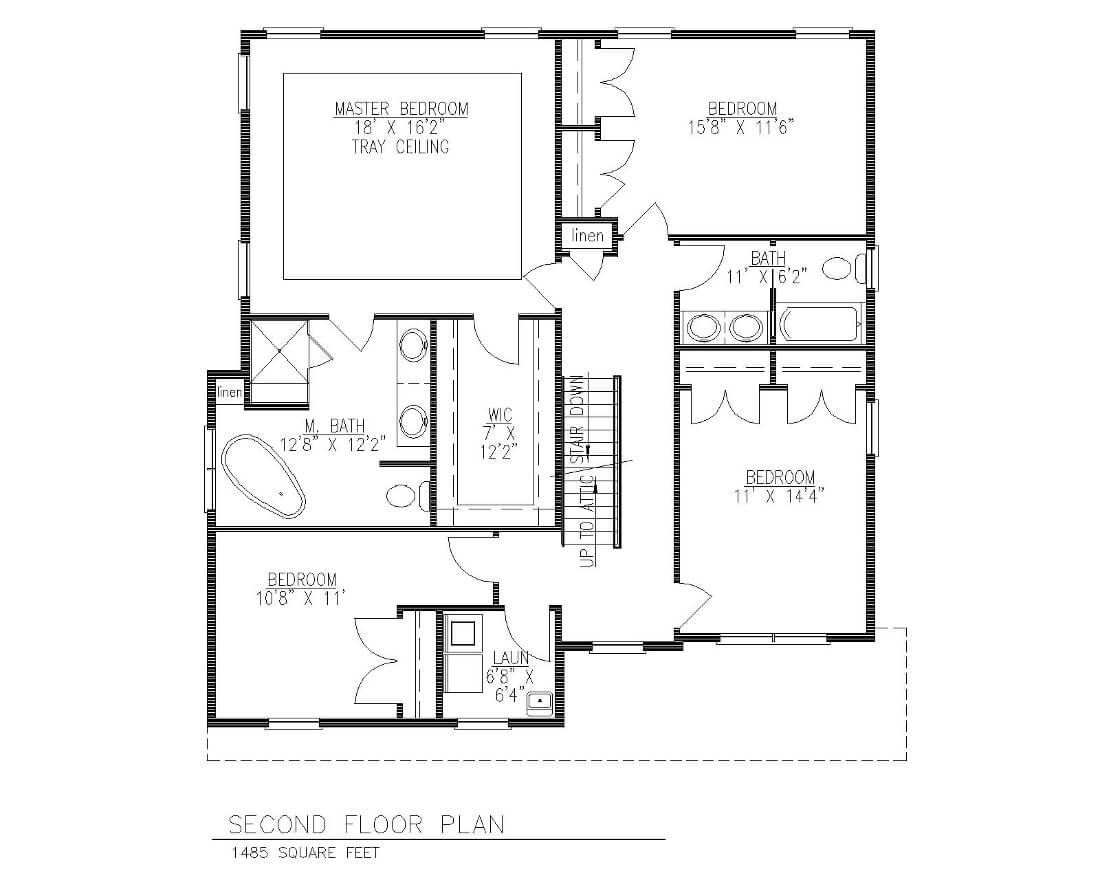 5 Village 2nd Floor Plan