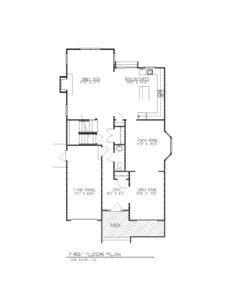 610 Cumberland Street, Westfield- 1st Floor Plan B&W