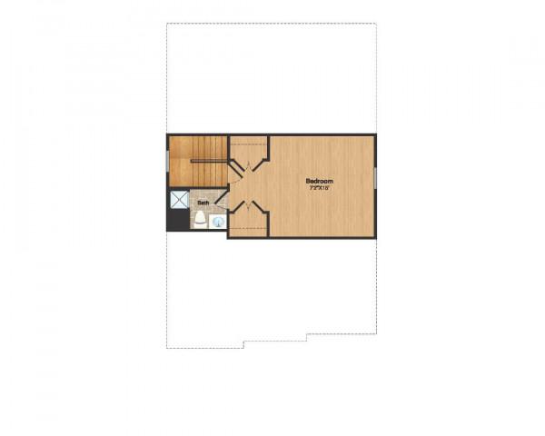 Floorplan Attic Color