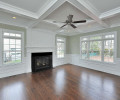 Family Room I with Coffer Ceiling