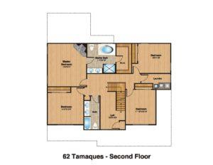 62 Tamaques Way, Westfield- 2nd Floor Plan Color