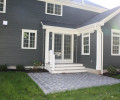 Rear Elevation with Patio