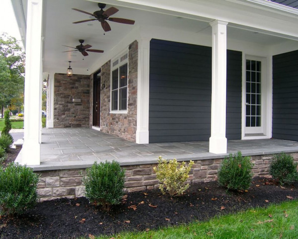 Right Side/Porch Elevation