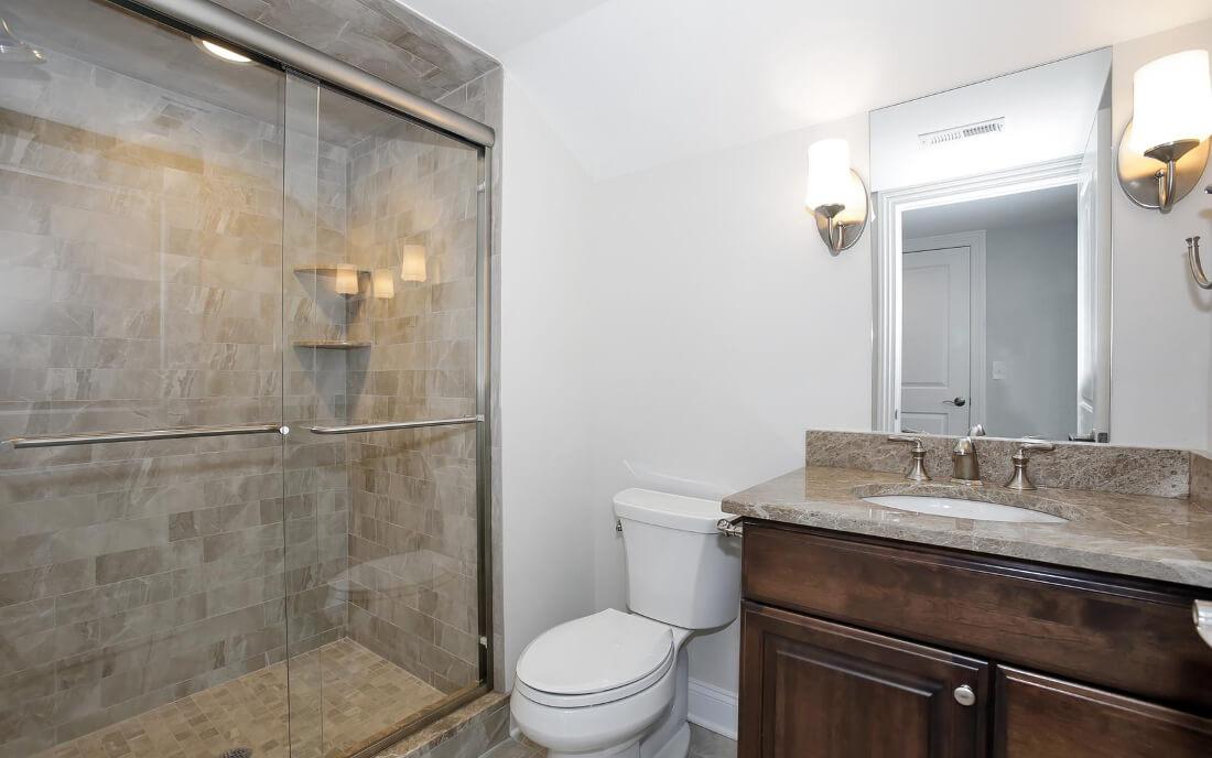 621 Green Attic Bathroom