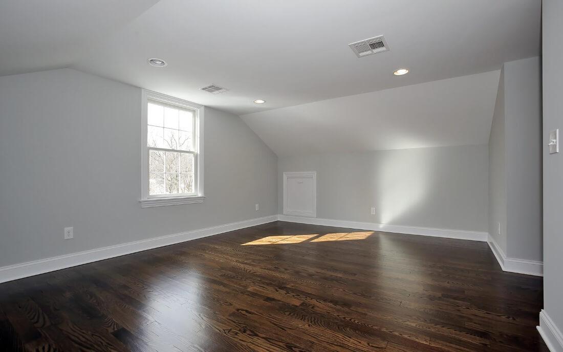 621 Green Attic Bedroom