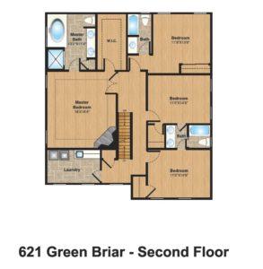 621 Green Briar Court, Westfield- 2nd Floor Color