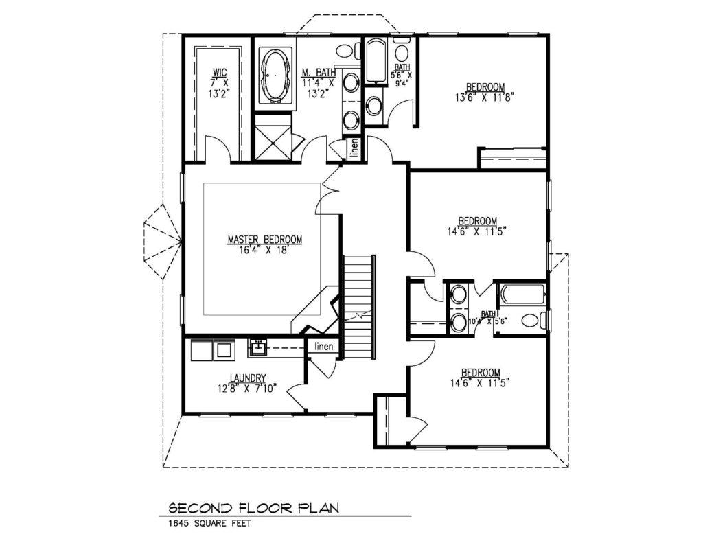 621 Green Briar Court, Westfield- 2nd Floor Plan