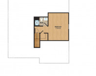 Finished Attic Plan