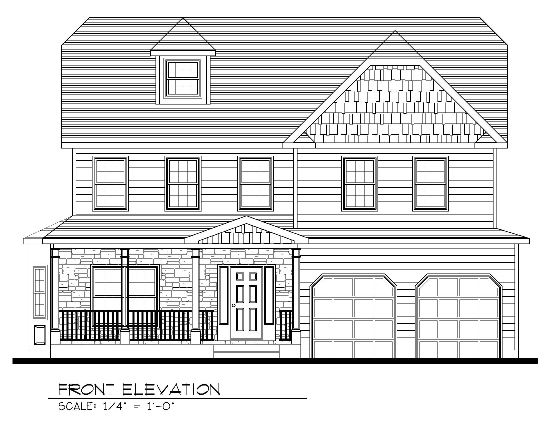 621 Green Briar Front Elevation