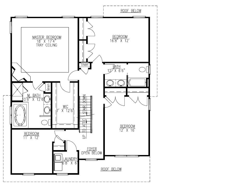627 Leigh 2nd Floor Plan
