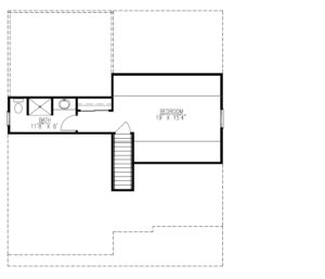 627 Leigh Drive, Westfield- Attic Floor Plan