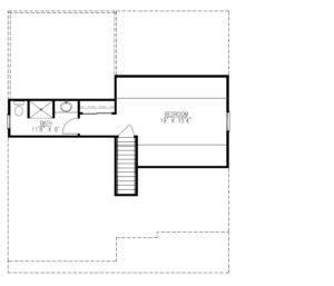627 Leigh Drive, Westfield- Attic Floor Plan