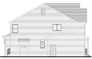 627 Leigh Drive, Westfield- Left Elevation