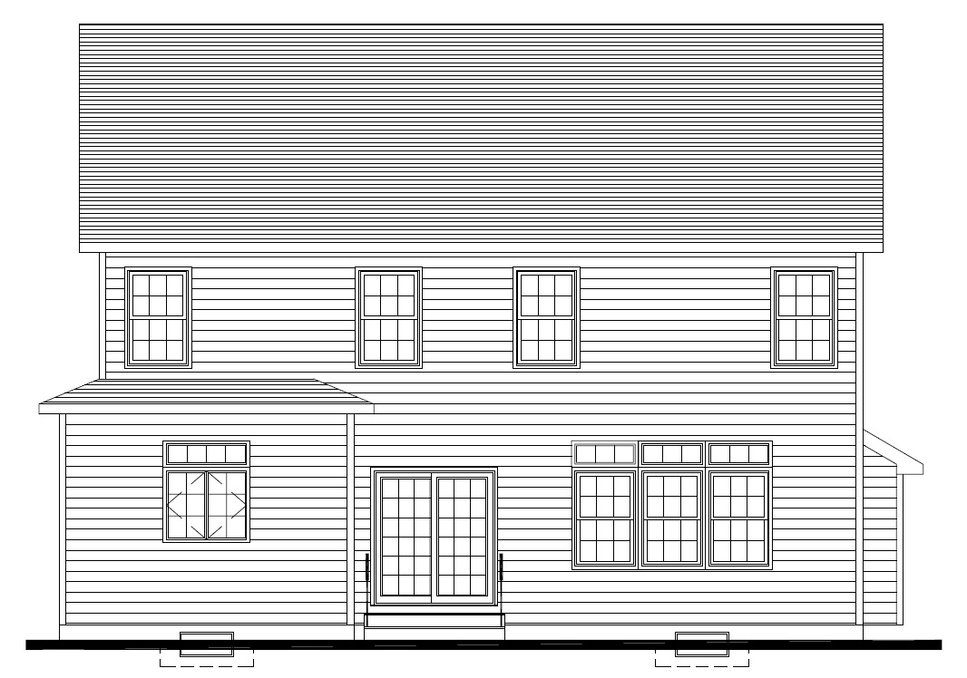 627 Leigh Rear Elevation
