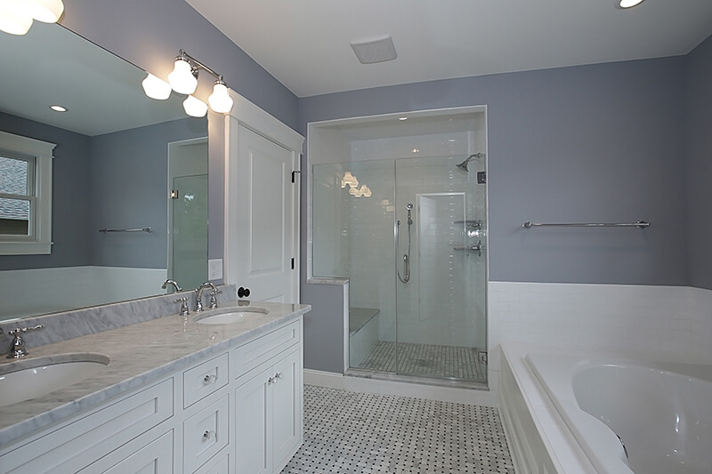 645 Lenox Master Bathroom I