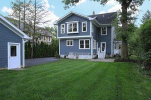 645 Lenox Avenue, Westfield- Rear Elevation
