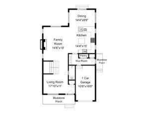 648 Maple Street, Westfield- 1st Floor Plan