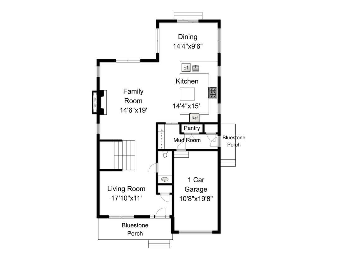 648 Maple 1st Floor Plan
