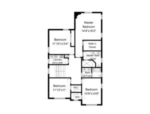 648 Maple Street, Westfield- 2nd Floor Plan