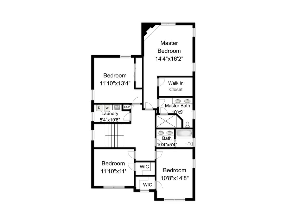 648 Maple 2nd Floor Plan