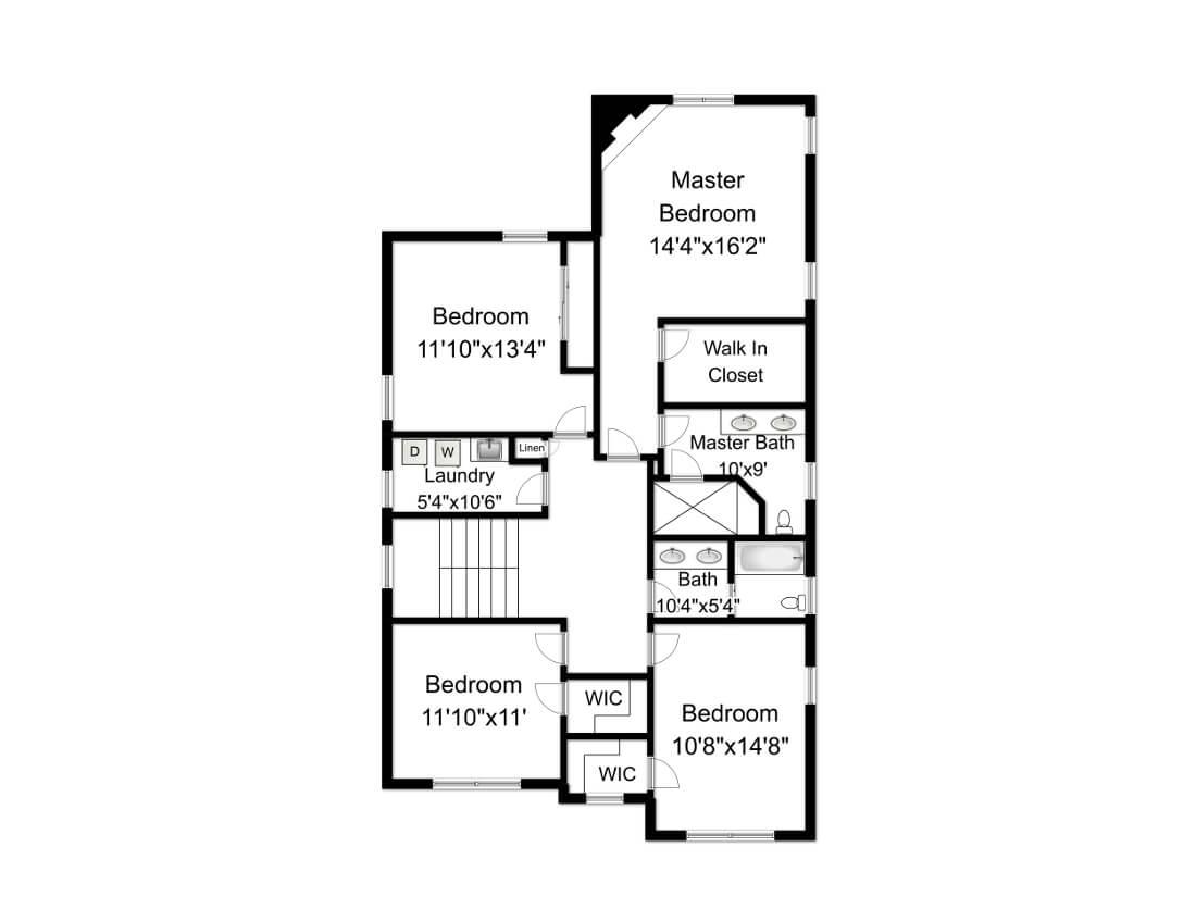 648 Maple 2nd Floor Plan