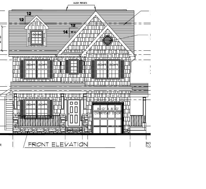 648 Maple Front Elevation