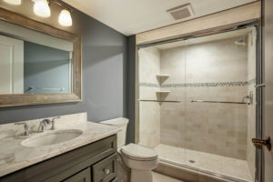 670 Carleton Road, Westfield- Basement Bathroom