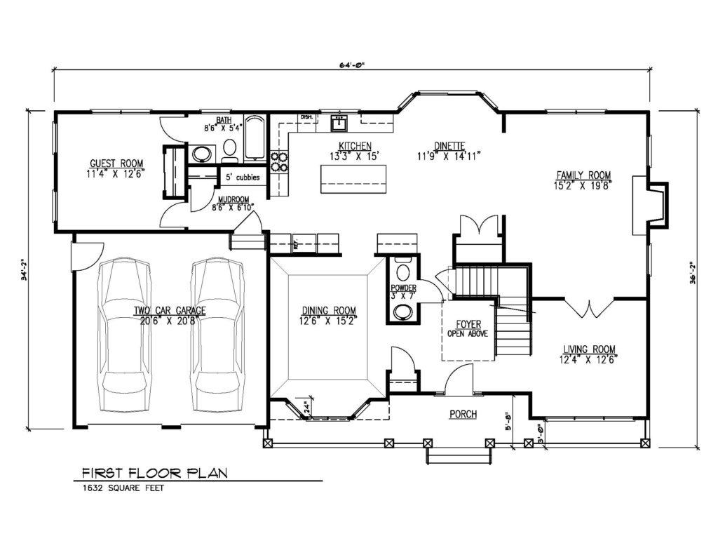 670 Carleton Road, Westfield- 1st Floor Floor Plan
