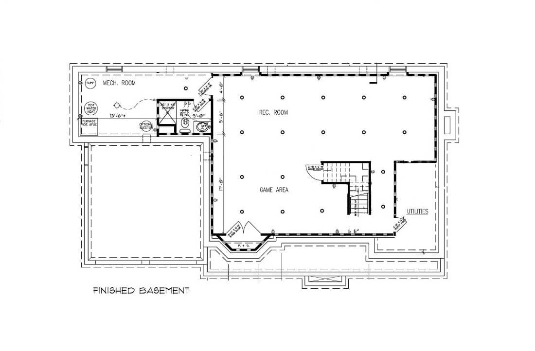 670 Carleton Basement Floor Plan