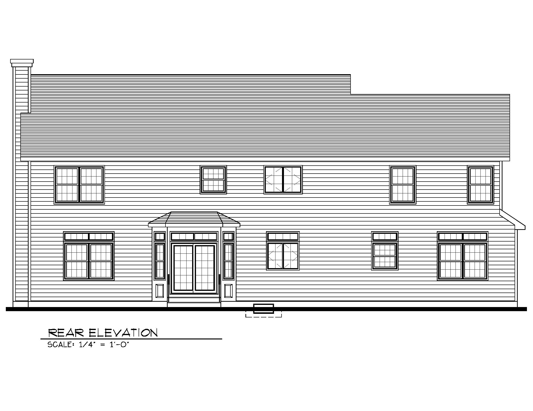 670 Carleton Rear Elevation