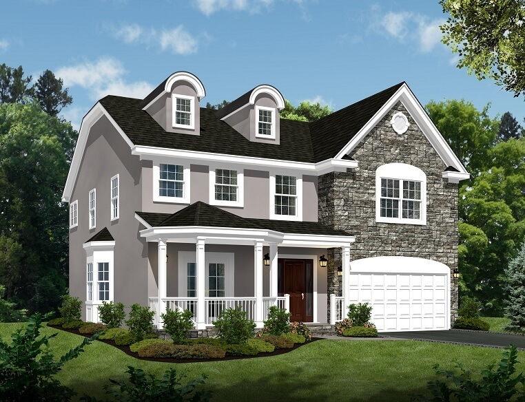 713 Knollwood Front Color Rendering