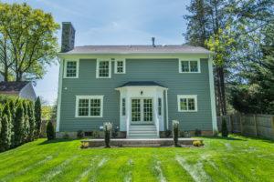 713 Knollwood Terrace, Westfield- Rear Elevation