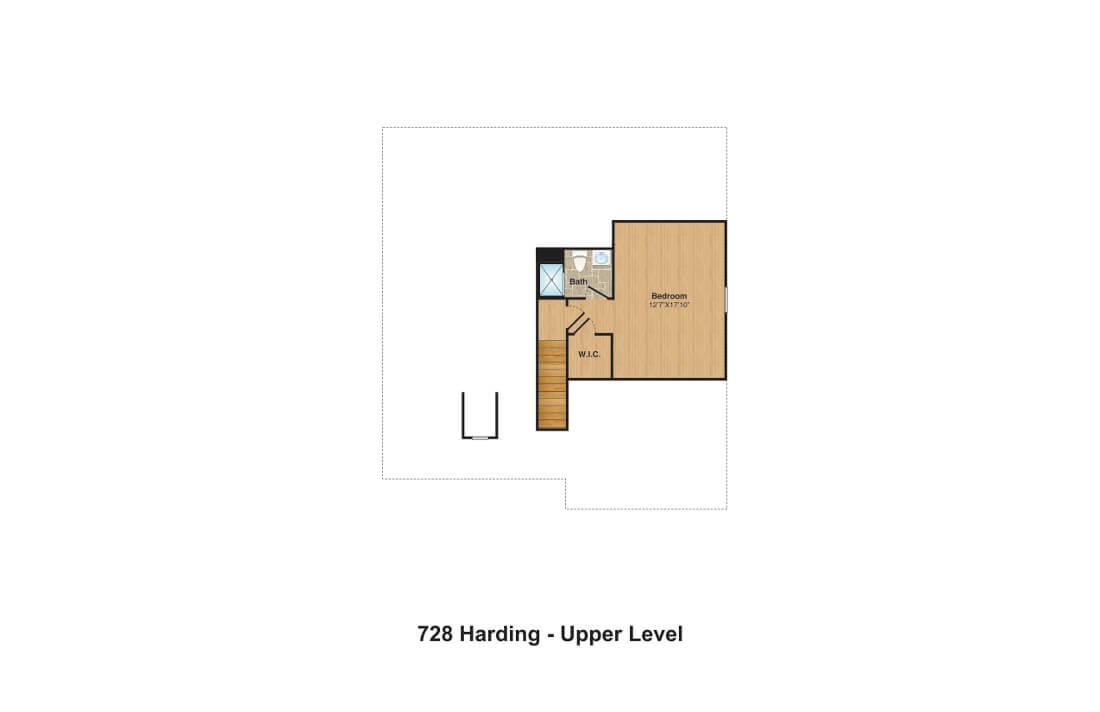 728 Harding FPs 3rd floor