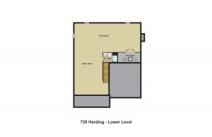 Basement - 728 Harding Street, Westfield NJ