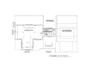 816 Knollwood Terrace, Westfield- Attic Floor Plan