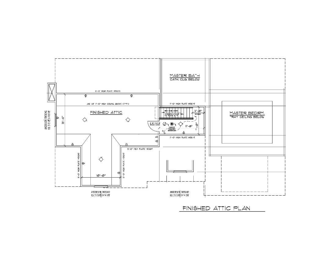816 Attic Floor Plan