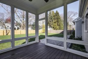 816 Knollwood Terrace, Westfield- Rear Porch